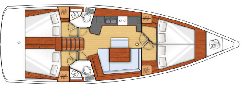 Yacht charter Skiathos-Puresailing-Oceanis 45-117-rw