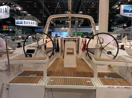 Beneteau 38 cockpit. Ready for your next holiday in Greece