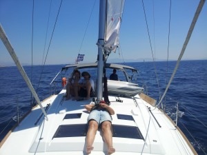 Yachting in the Greek islands
