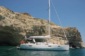 Oceanis 45 for Yacht Charter Skiathos