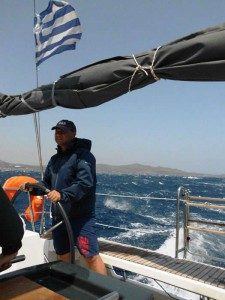 Yacht charter Greece skipper
