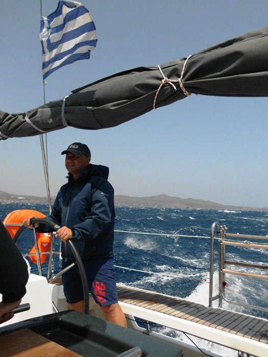 Yacht charter Greece skipper