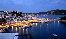 yacht charter greece skiathos - statr from our base in Skiathos