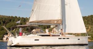 Aurora sailing yacht Skiathos